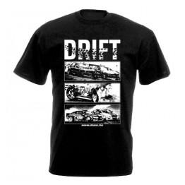DRIFT ALLSTARS férfi póló, fekete