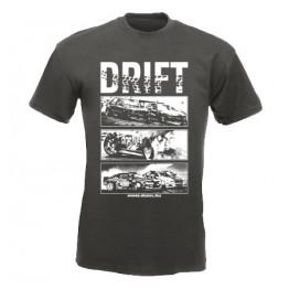 DRIFT ALLSTARS férfi póló, grafit