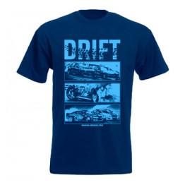 DRIFT ALLSTARS férfi póló, sötétkék