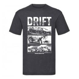 DRIFT ALLSTARS férfi póló, sötétszürke