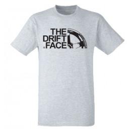 THE DRIFT FACE férfi póló, szürke