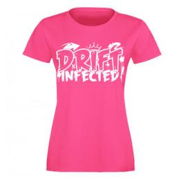 DRIFT INFECTED női felső, magenta