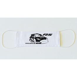 Ford Fiesta R5 MkII maszk, fehér