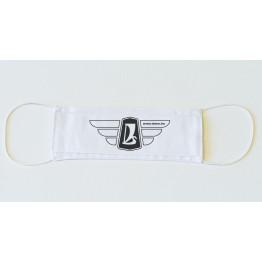Lada szárnyas logó maszk, fehér