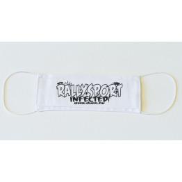 RALLYSPORT INFECTED maszk, fehér