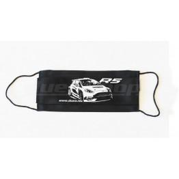 Ford Fiesta R5 MkII maszk, fekete