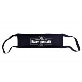 RALLY HUNGARY 2020 maszk, fekete