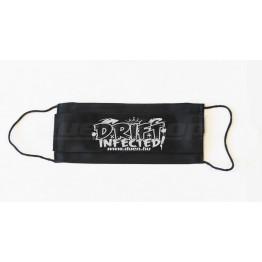 DRIFT INFECTED maszk, fekete