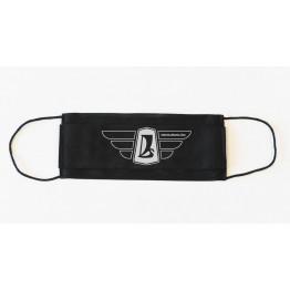 Lada szárnyas logó maszk, fekete