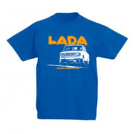 LADA 2107 JUMP gyerek póló, királykék