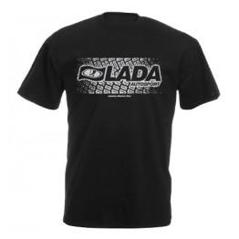 LADA AUTOSPORT férfi póló, fekete