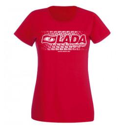 LADA AUTOSPORT női felső, piros