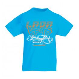 LADA VFTS gyerek póló, azúrkék