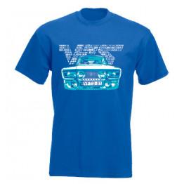VFTS-01 férfi póló, királykék