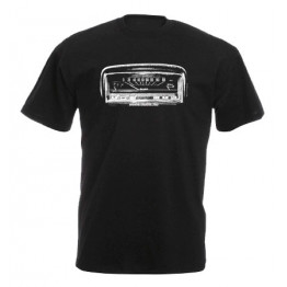 MŰSZERFAL 2101 férfi póló, fekete