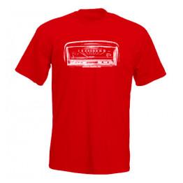 MŰSZERFAL 2101 férfi póló, piros