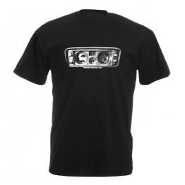 MŰSZERFAL 2105 férfi póló, fekete