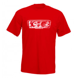 MŰSZERFAL 2105 férfi póló, piros