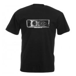 MŰSZERFAL 2107 férfi póló, fekete