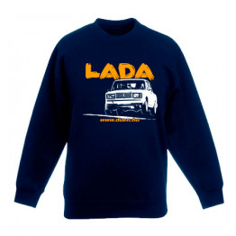 LADA 2107 JUMP gyerek pulóver, sötétkék