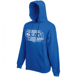 LADA AUTOSPORT kapucnis pulóver, királykék
