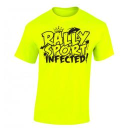 RALLYSPORT INFECTED férfi póló, neon