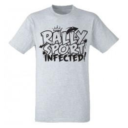 RALLYSPORT INFECTED férfi póló, szürke