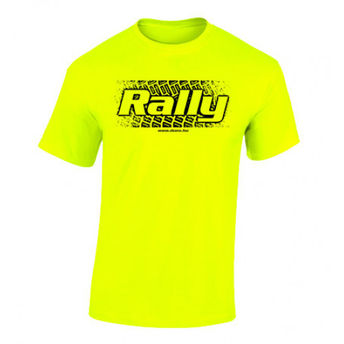 RALLY murvanyom férfi póló, neon
