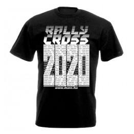RALLYCROSS 2020 férfi póló, fekete