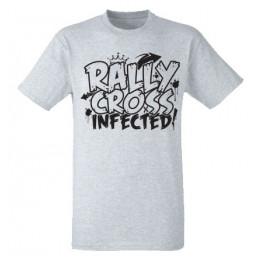 RALLYCROSS INFECTED férfi póló, szürke