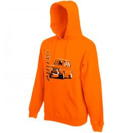 LADA 2101 kapucnis pulóver, narancs