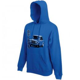LADA 2107 kapucnis gyerek pulóver, királykék