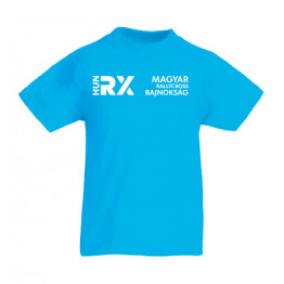 RALLYCROSS 2021 gyerek póló, azúrkék
