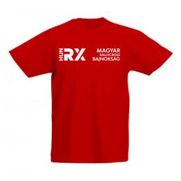 RALLYCROSS 2021 gyerek póló, piros