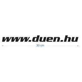 www.duen.hu autómatrica - fekete - 30cm