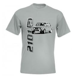 LADA 2101 férfi póló, cink