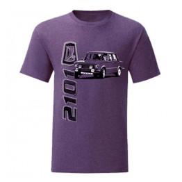 LADA 2101 férfi póló, lila