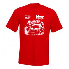 BÚTOR ROBI C3WRC férfi póló, piros