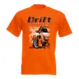 DRIFT LIFESTYLE férfi póló, narancs