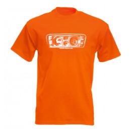 MŰSZERFAL 2105 férfi póló, narancs