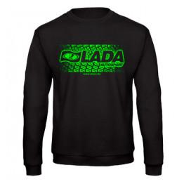 LADA AUTOSPORT férfi pulóver, fekete - zöld