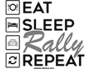 EAT SLEEP RALLY