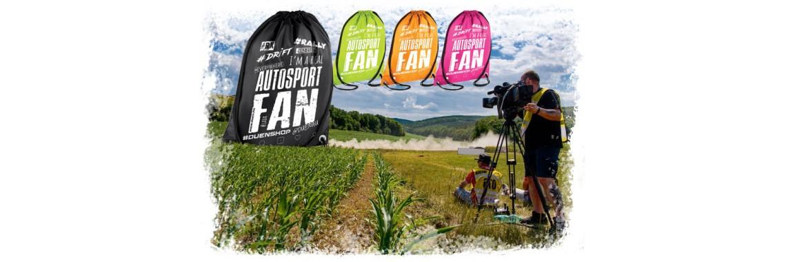 Autósport FAN táskák