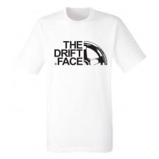 THE DRIFT FACE férfi póló, fehér