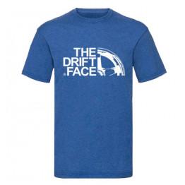 THE DRIFT FACE férfi póló, kék