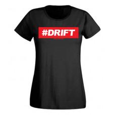 #DRIFT női felső, fekete