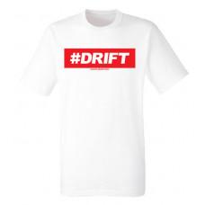#DRIFT férfi póló, fehér