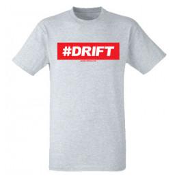 #DRIFT férfi póló, szürke