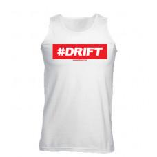 #DRIFT férfi trikó,  fehér