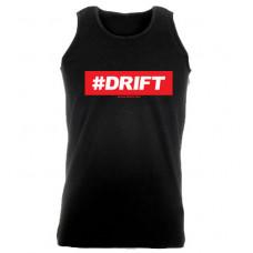 #DRIFT férfi trikó, fekete